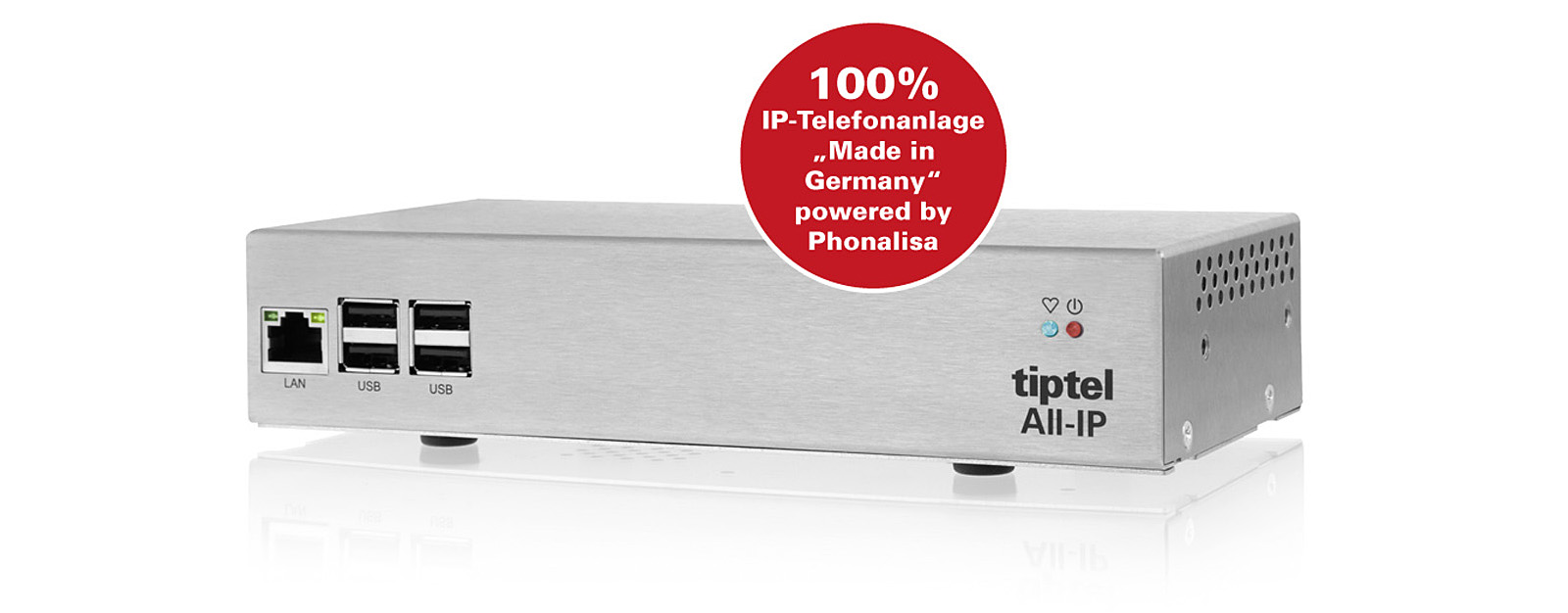 tiptel 8010 All-IP Appliance